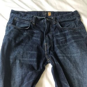 J. Crew 770 Straight-fit flex jean in dark wash